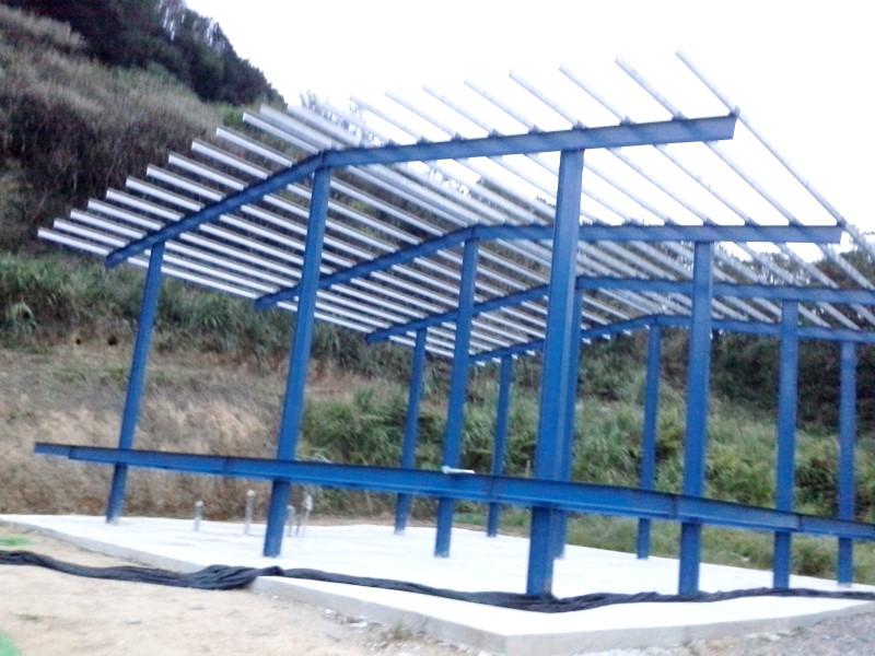 輕鋼架施工工程案例