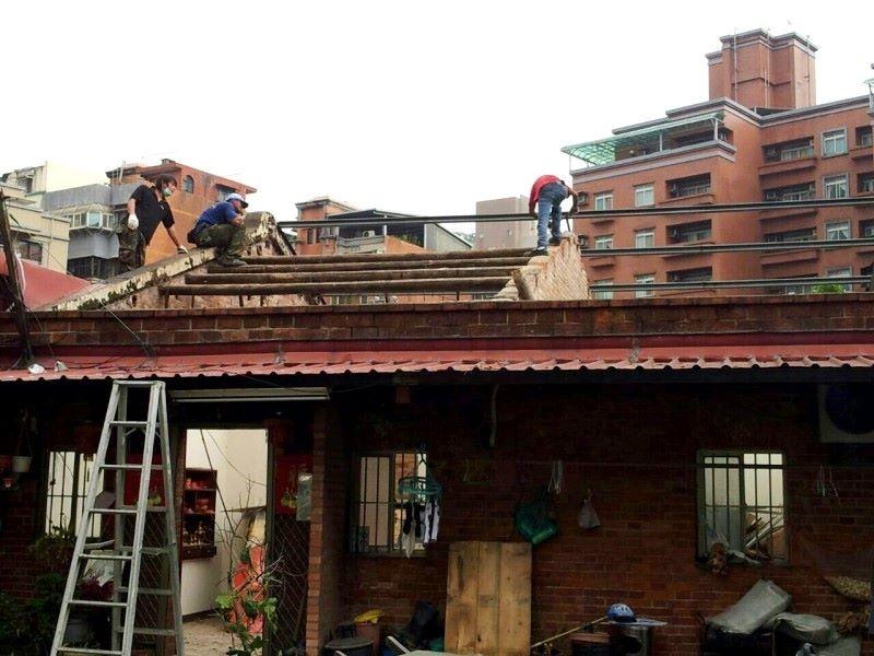鐵皮屋設計作品-舊屋翻修