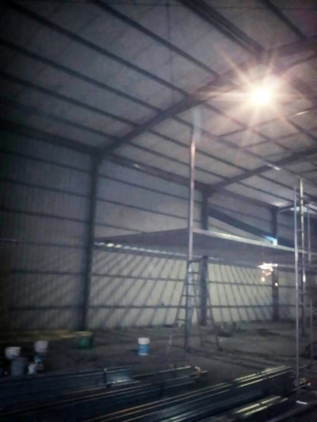 鐵皮屋工程-夾層施工