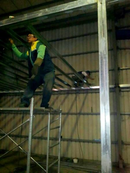 鐵皮屋工程-夾層焊接