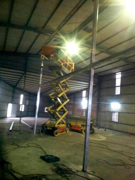 鐵皮屋工程-內部修改