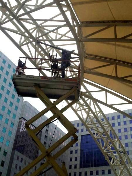 鐵皮屋設計造景作品-施做過程