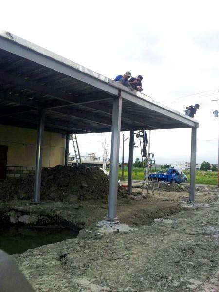 鐵皮屋工程-樓層鋼板