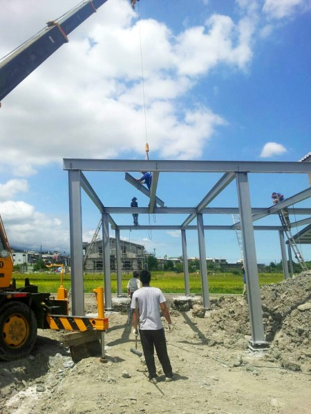 鐵皮屋工程-吊車樓層鋼板