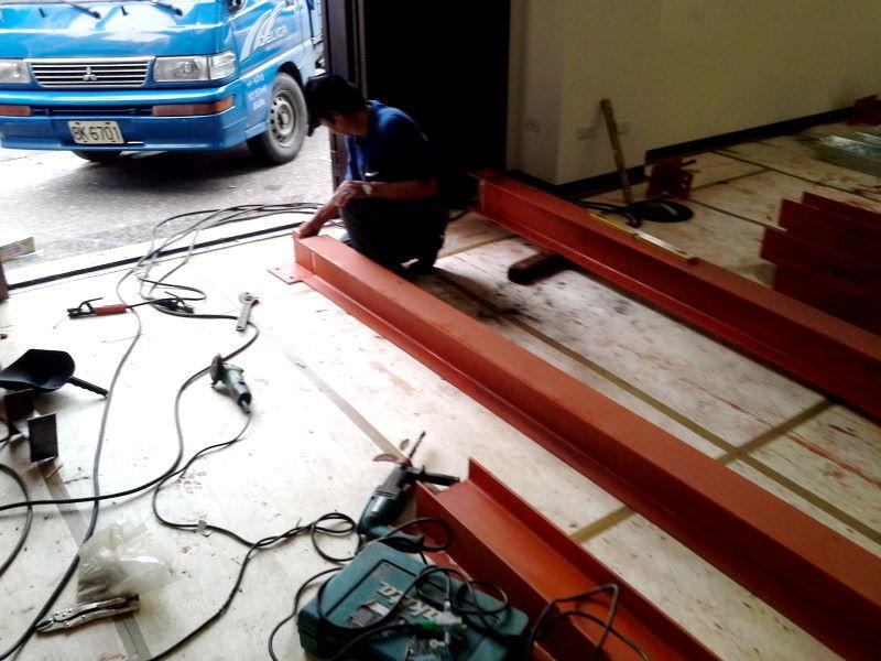 鋼架施工工程案例-11