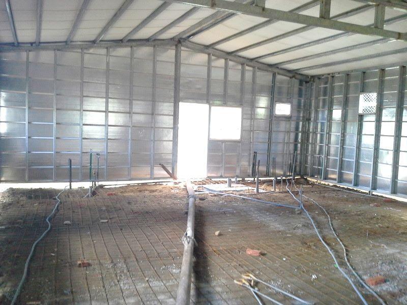 鐵皮屋工程含泥作施工-10