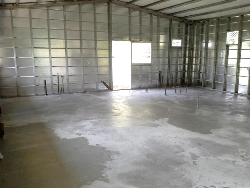 鐵皮屋工程含泥作施工-11