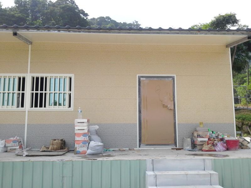 鐵皮屋工程含泥作施工-13