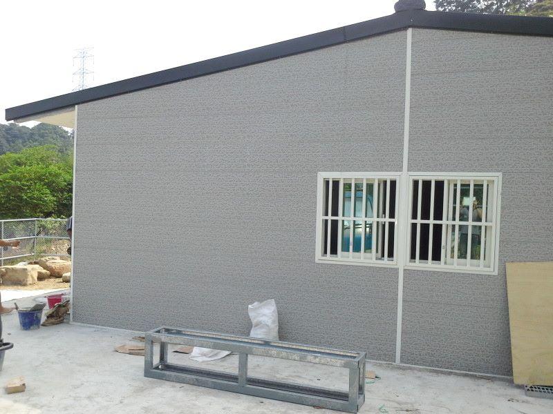 鐵皮屋工程含泥作施工-14